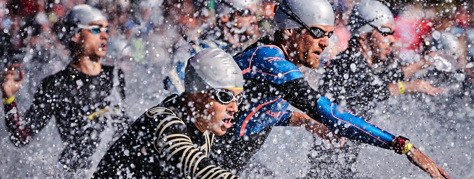 bonnet de bain personnalisé triathlon